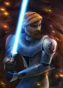Why is Obi Wan's Lightsaber Blue