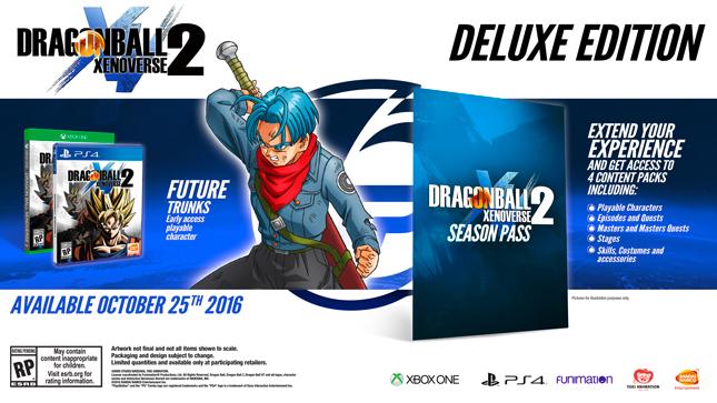 Dragonball Xenoverse 2 Deluxe Edition