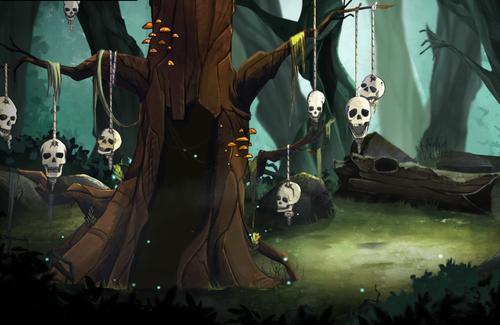 dead in vinland skull tree